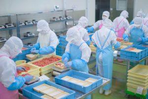 食品の製造